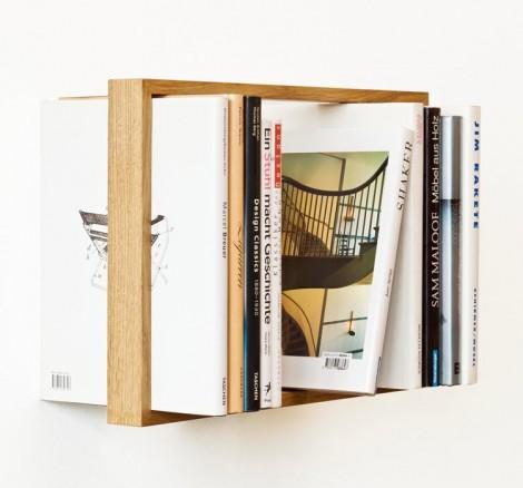 Létající police na knihy