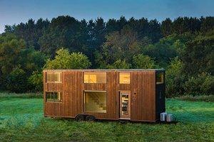 Dřevostavba na kolečnách aneb moderní mobilní dům